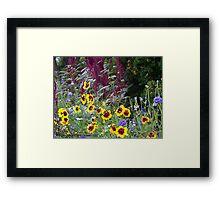 Hidden Garden Framed Print