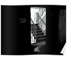 stair case out of here Poster