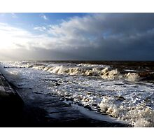 Gales on the Irish Sea!! Photographic Print