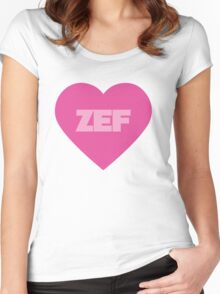 Die Antwoord Style ZEF Design. Women's Fitted Scoop T-Shirt