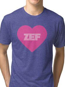 Die Antwoord Style ZEF Design. Tri-blend T-Shirt
