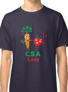 CSA Love - light (Community Supported Agriculture) Classic T-Shirt