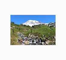 Beauty And The Beast - Mount Rainier Streaming Down Unisex T-Shirt