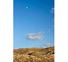 El Paso Mountains, Mojave Desert, California Photographic Print