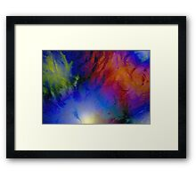 Fibre Fun Framed Print