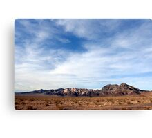 Marble Mountains, Cadiz, California Canvas Print