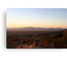 Clipper Mountains, California Canvas Print