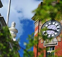 Town Clock by Jenni Greene