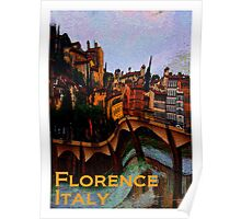 Florence, Italy in Abstract  Poster