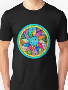 LIBRA Tapestry of Life Mandala T-Shirt