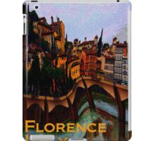 Florence, Italy in Abstract  iPad Case/Skin