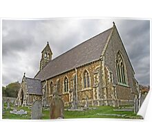 St John The Evangelist, Kingsdown, Kent Poster