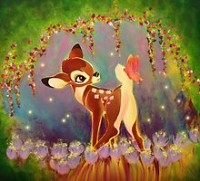 The Fawn and the Butterfly by Ryan Rydalch