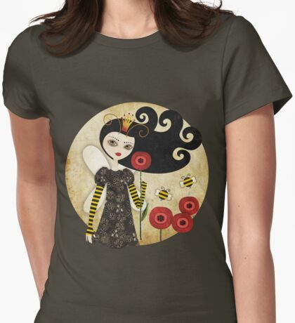 Queen Beatrix Womens Fitted T-Shirt