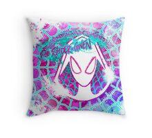 Lovely Neighborhood Spider-Gwen Throw Pillow