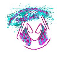 Lovely Neighborhood Spider-Gwen Photographic Print