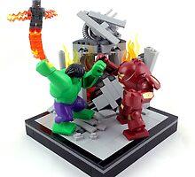 LEGO Hulkbuster by Ryan Rydalch