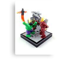 LEGO Hulkbuster Canvas Print