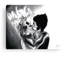 Lucy & Jude Canvas Print