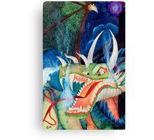 Zoe Dragon Canvas Print