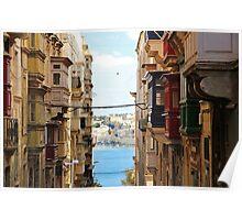 Balconies of Valletta 2 Poster