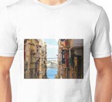 Balconies of Valletta 2 Unisex T-Shirt