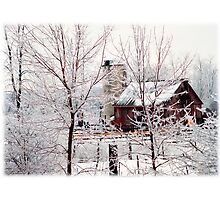 Frigid Scene Photographic Print