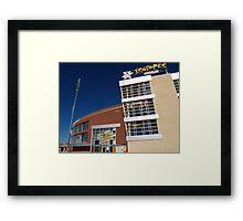 Isotopes Park Framed Print