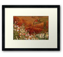 Landscape myth Framed Print