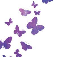 Fluttering butterflies Sticker