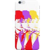 Audrey Hepburn Pop Art iPhone Case/Skin