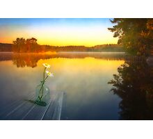 Summer morning silence Photographic Print