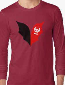 HTTYD Toothless Tail Heart Long Sleeve T-Shirt