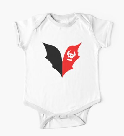 HTTYD Toothless Tail Heart One Piece - Short Sleeve