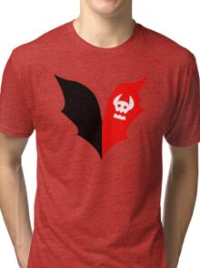 HTTYD Toothless Tail Heart Tri-blend T-Shirt