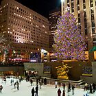 Christmas Tree Rockefeller Center by andykazie