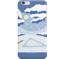 Snow Angle iPhone Case/Skin