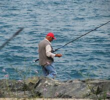 Fishing in Sirkeci,Istanbul. by rasim1