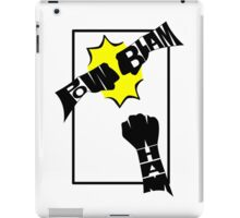 Action Words iPad Case/Skin