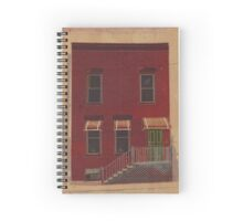 173 Sacramento Building Illustration Spiral Notebook