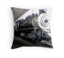 Virginian RR 0-8-0 Throw Pillow