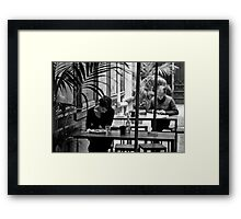 Separate Tables Framed Print
