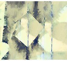 blue lines Photographic Print