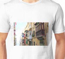 Balconies of Valletta 3 Unisex T-Shirt