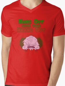 Hang out with your Krang out Mens V-Neck T-Shirt