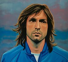 Andrea Pirlo painting by PaulMeijering