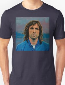 Andrea Pirlo painting Unisex T-Shirt