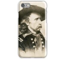George Armstrong Custer iPhone Case/Skin