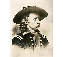 George Armstrong Custer Photographic Print