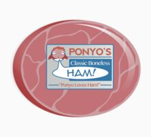 Ponyo's Ham One Piece - Short Sleeve